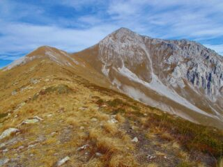 il Monte Pianard e la Rocca d'Orel