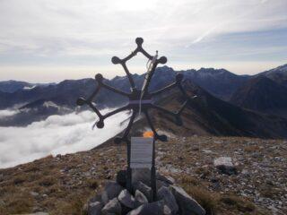 la croce occitana sul Pianard