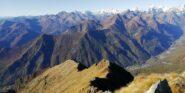 In basso la Val Grande