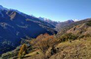 in discesa da Rocca del Colle