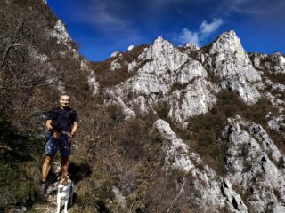 Inizio del traverso Val Nera