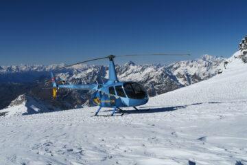 elicottero al Plateau