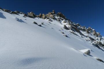 ancora poco e dovrò parcheggiare gli sci