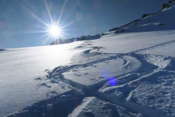 magnifica neve in alto