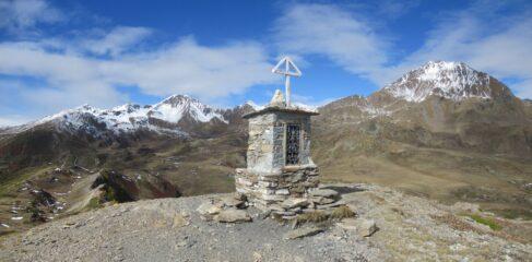 Quota m. 2438 con a destra il Mont Fallere