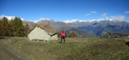 Chiesetta all'Alpe d'Arguel