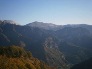 panorama dalla cresta del Castello