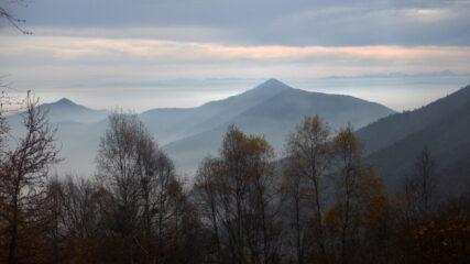 Panorama di oggi dal Colle della Portia