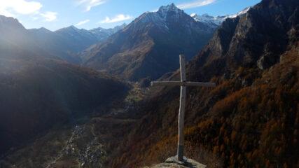 Vista verso la testata della valle di Viù