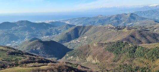 visuale panoramica verso Genova