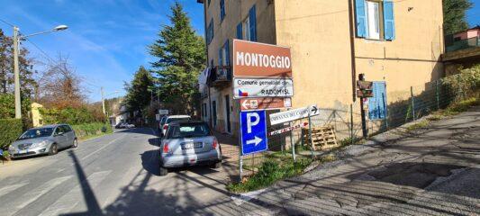 arrivato a Creto, si imbocca la stradina sulla destra indicata da cartelli indicatori