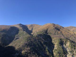 Monte Reixa dalla Rocca du Fò