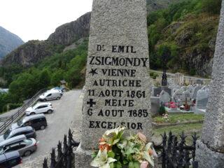 Emil Zsigmondy perito su un arduo tentativo della parete sud della Meije, ai tempi era uno dei più forti in circolazione.