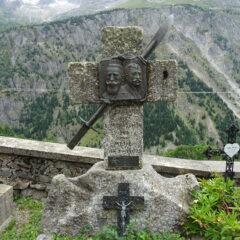 Troviamo la tomba di due Italiani anche loro caduti sulla Meije.