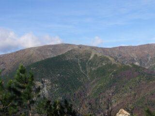 Monte Penello dal crinale del Monte Contessa
