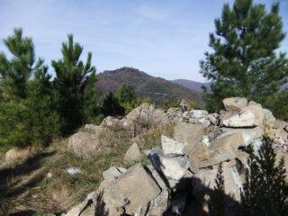 Sulla cima del Bric dei Corvi Nord