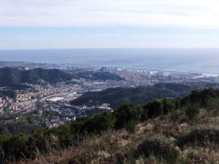 Genova dal Bric dei Corvi Sud