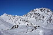 Mont de Menouve e Mont Velan dalla vetta del Paglietta