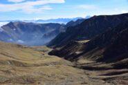 Il vallone di discesa dal Colle Intersile verso San Magno