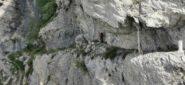 passaggi spettacolari lungo il Sentiero degli Alpini