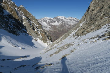 il colle che precede l'ultima  rampa prima di Mont Forciaz