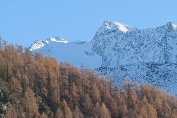 le punte di Mont Forciaz e Rabuigne viste da Bonne