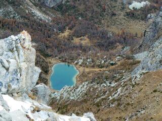 Lago Nero dalla vetta