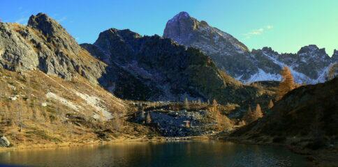 Rocca La Meja dal lago