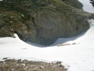 entrata grotta di Piaggiabella