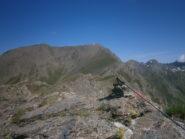 Tre Chiosis dalla cresta Savaresh quota2842