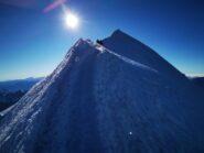 Ultimi metri di cresta...