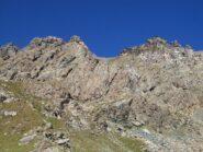 Le due cime dell'Orsiera viste dal Lago della Manica