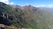 Dalla cima sud, vista sulla Valle sottostante del fiume Savenca