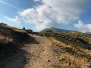 Arrivo al Passo San Lucio.
