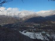 Panorama su Valle di Susa