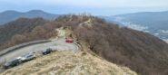il boscoso crinale risalito da San Siro di Struppa e l'incrocio con la SP13