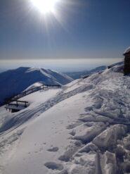 Alpe Laser. Salendo al Lion da versante sud