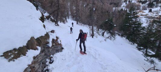 ritornando a Valcona Soprana
