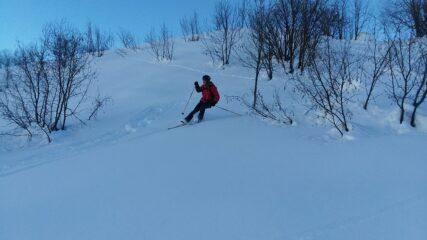 neve stupenda e nessun passaggio