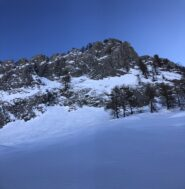 Versante ovest monte Fantino