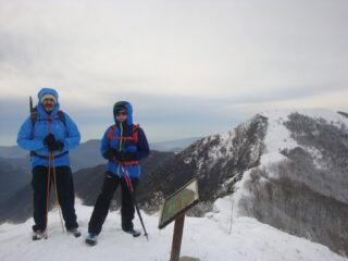 Dal Monte Lago verso l'Alpesisa