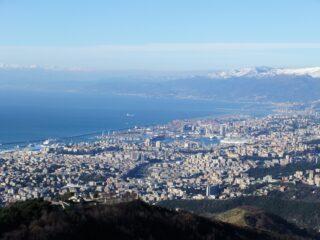 Panorama sul centro di Genova
