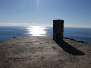 Da uno dei bunker sotto Monte Moro