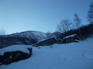 il Soglio dall'alpe Casias..
