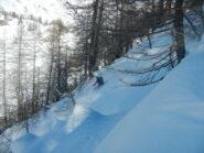 Imboscati sotto l'Alpe Sangiatto