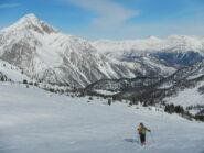 Monte Chaberton sullo sfondo