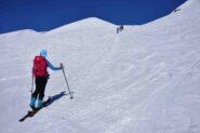 Salendo al Pic Blanc du Galibier