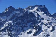 Meije e Pic Gaspard dal Pic Blanc du Galibier