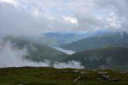 Panorama dalla vetta verso il Loch Lyon