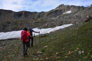 Salendo da Montagna Baus al Mont Fourchon